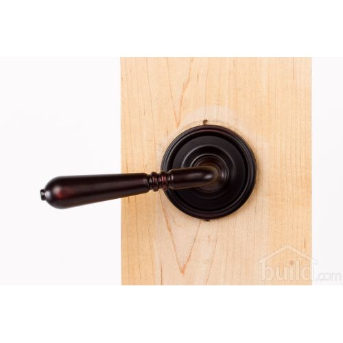 Weslock 605Y Legacy Single Dummy Door Lever Set with Round Rose from the Elegance Collection