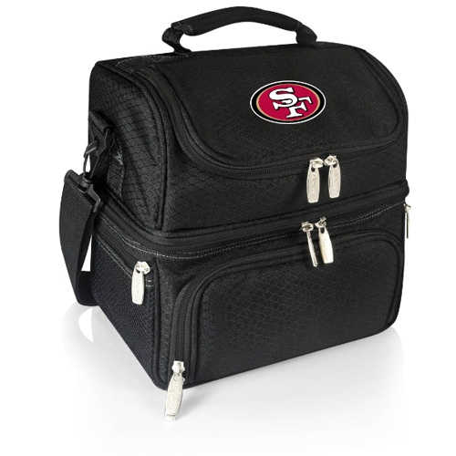 NFL Lunch Box by Picnic Time, Pranzo - San Francisco 49ers, Black