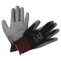 AnsellPro HyFlex Lite Gloves, Black/Gray, Size 7, 12 Pairs -ANS116007BK
