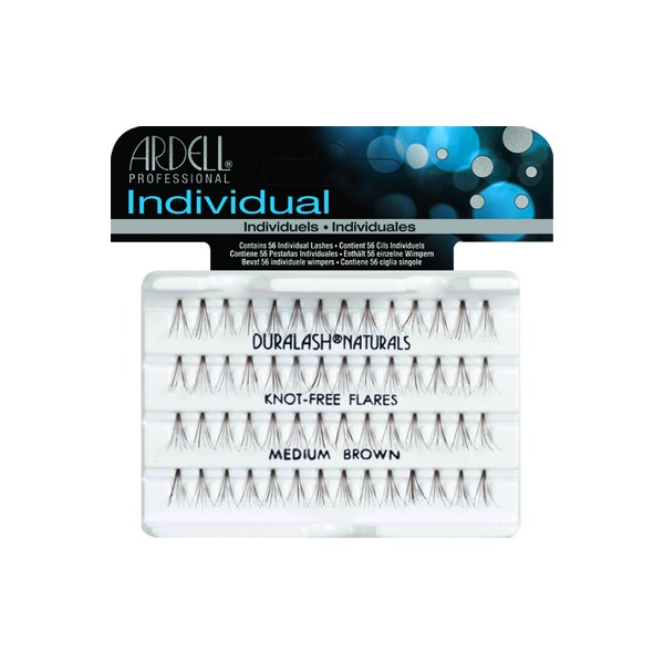 Ardell Individual Knot Free Flares Brown Medium