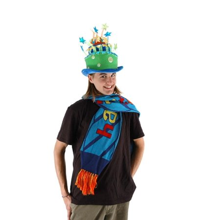Party Celebration Green Cake Adult Costume Hat - Birthday Cake Costume For Adults