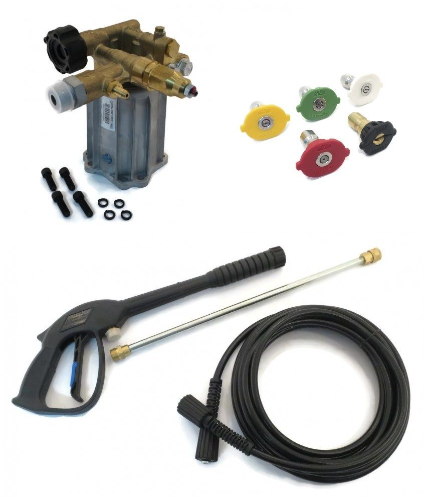 3000 psi POWER PRESSURE WASHER PUMP & SPRAY KIT Karcher G3050 OH w  Honda GC190 by The ROP Shop by Annovi Reverberi