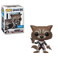 Funko POP! Marvel: Avengers Endgame - Rocket (Walmart Exclusive)