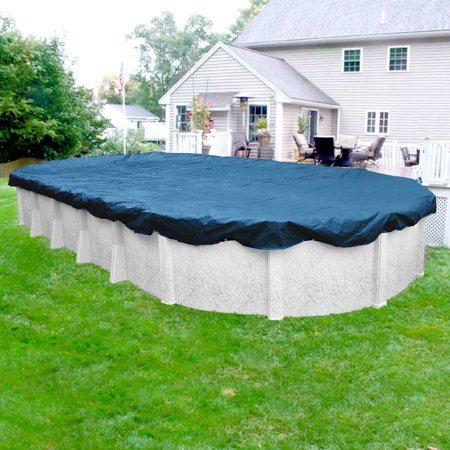 - Pool Mate 8 Year Classic Oval Winter Pool Cover