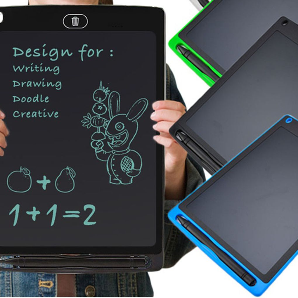 8.5 inch Mini Writing Message Board LCD Drawing Tablet Kids Handwriting Paperless Notepad