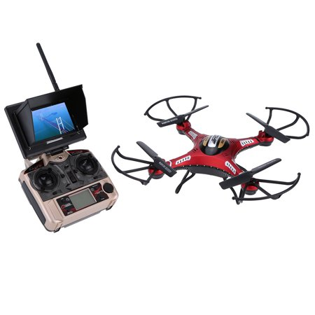 JJR/C H8D 5.8G FPV RTF RC Quadcopter Drone with 2.0MP Camera FPV Monitor (Best Rtf Rc Plane)
