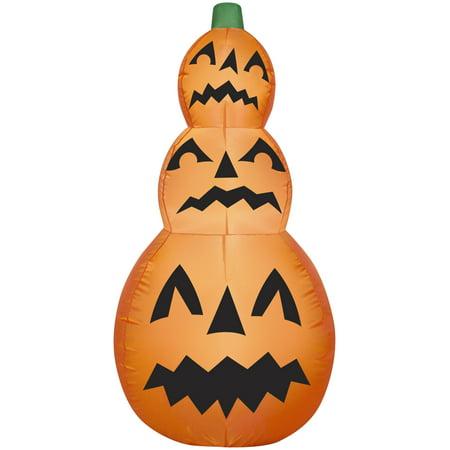 Gemmy Airblown Pumpkin Stack