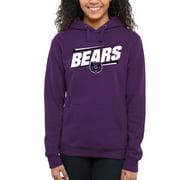 Central Arkansas Bears Women's Double Bar Pullover Hoodie - Purple