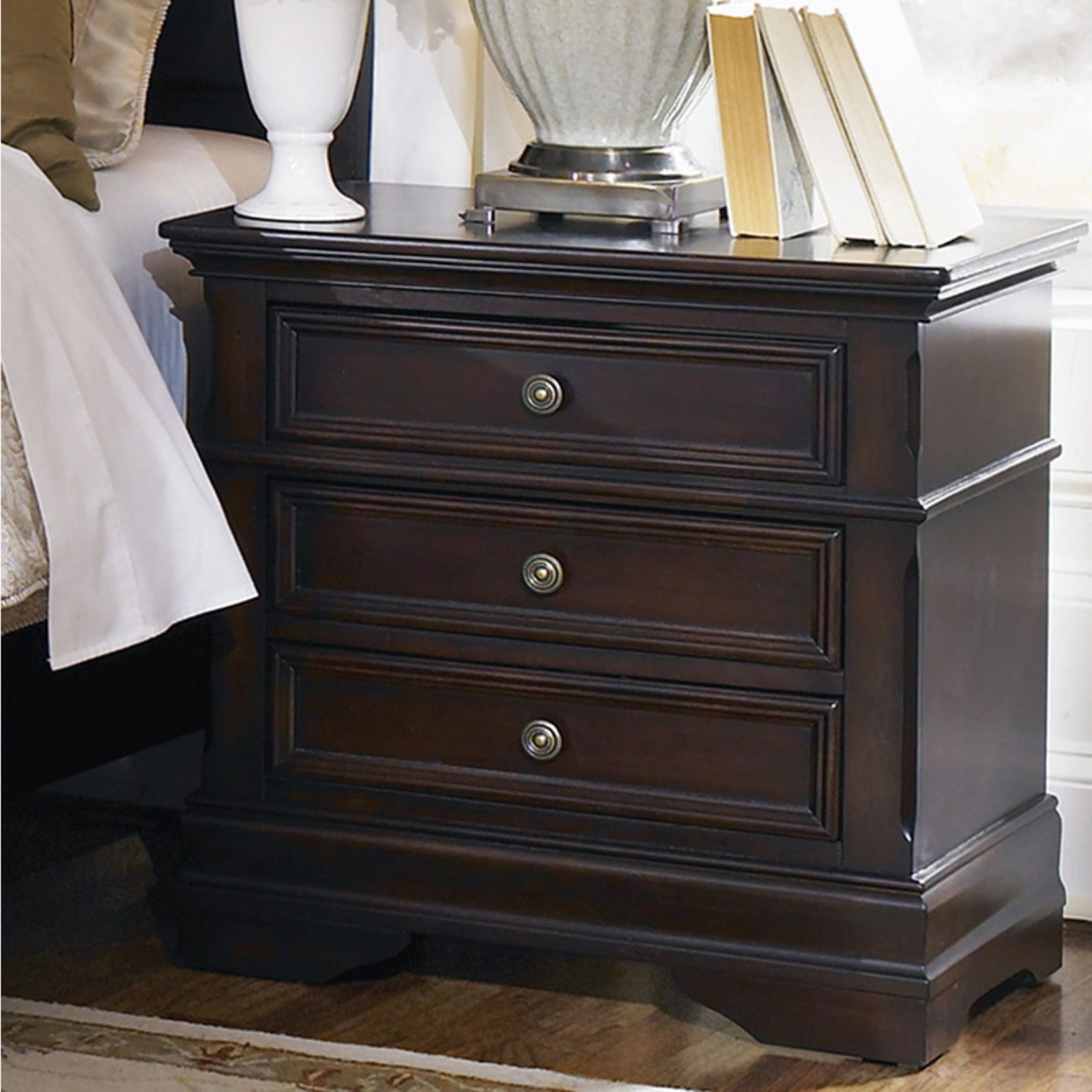 Coaster Company Cambridge Collection Nightstand, Cappuccino