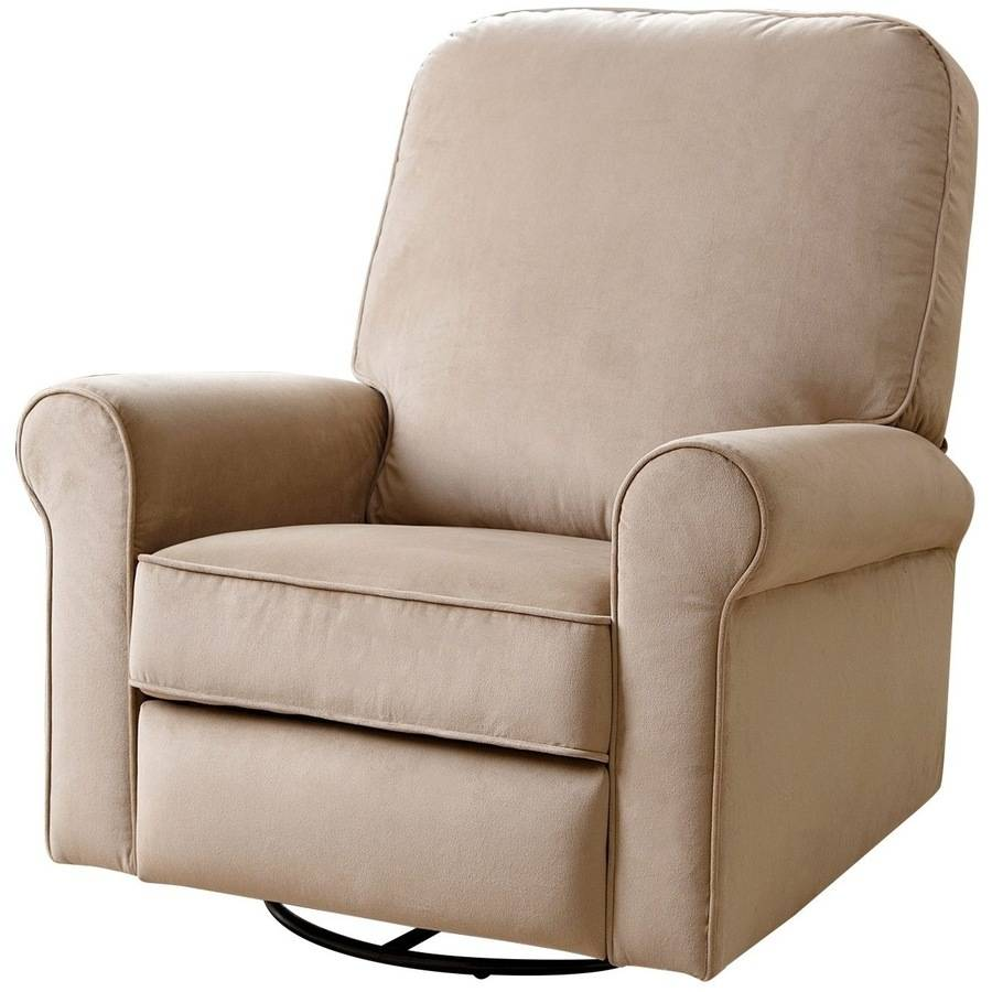 devon u0026 claire georgetown fabric swivel glider recliner multiple colors