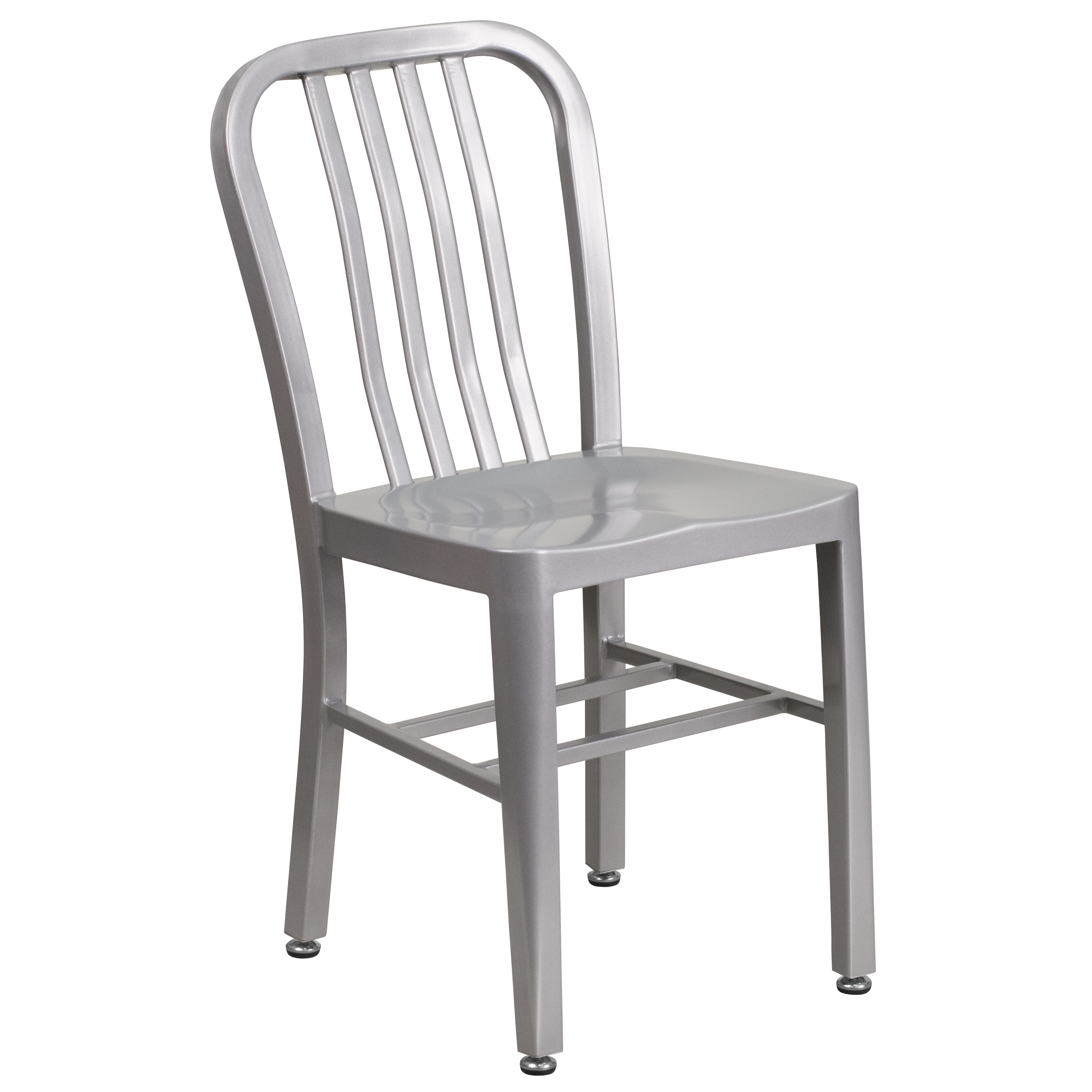 Porch & Den  Stonehurst Stoneford Metal Indoor/ Outdoor Chair