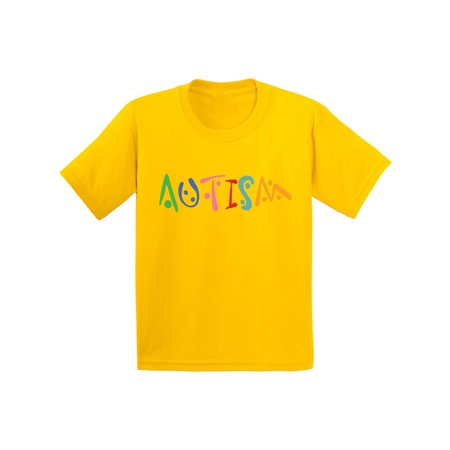 Awkward Styles Youth Autism Autistic Support Graphic Youth Kids T-shirt Tops for Autism - Skirts For Kids