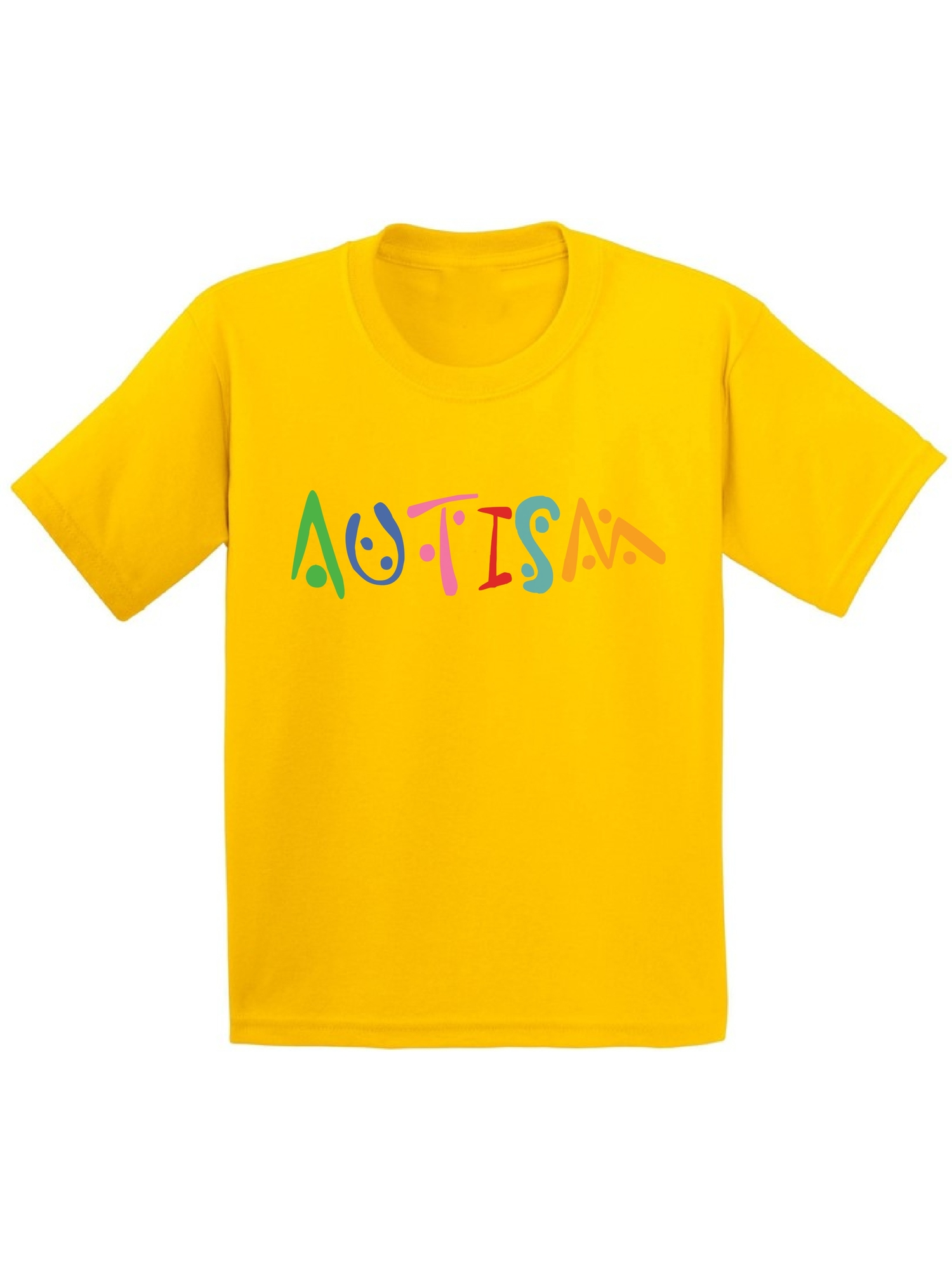 Awkward Styles Youth Autism Autistic Support Graphic Youth Kids T-shirt Tops for Autism Awareness