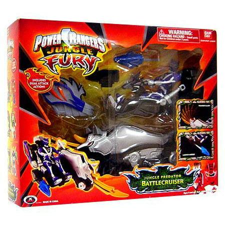 Power Rangers Jungle Fury Jungle Predator Battlecruiser Action Figure Vehicle