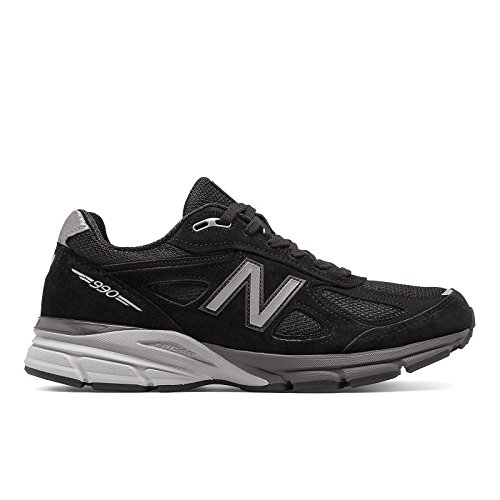 New Balance M990BK4: 990 Made in the USA Black Silver Mens Running Sneaker (12 D(M) US Men, Black Silver) by New Balance Athletic Shoe, Inc.