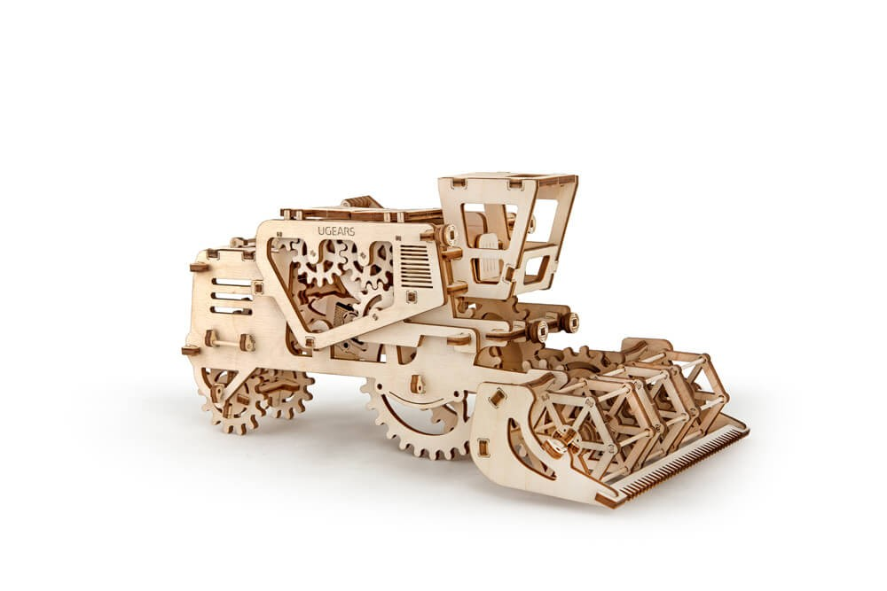 Ugears Combine Mechanical 3D Puzzle Best Eco-Friendly Wooden Gift Set for Kids and Adults by UGEARS