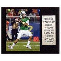 C&I Collectables NCAA Football 12x15 Marcus Mariota Oregon Ducks Career Stat Plaque