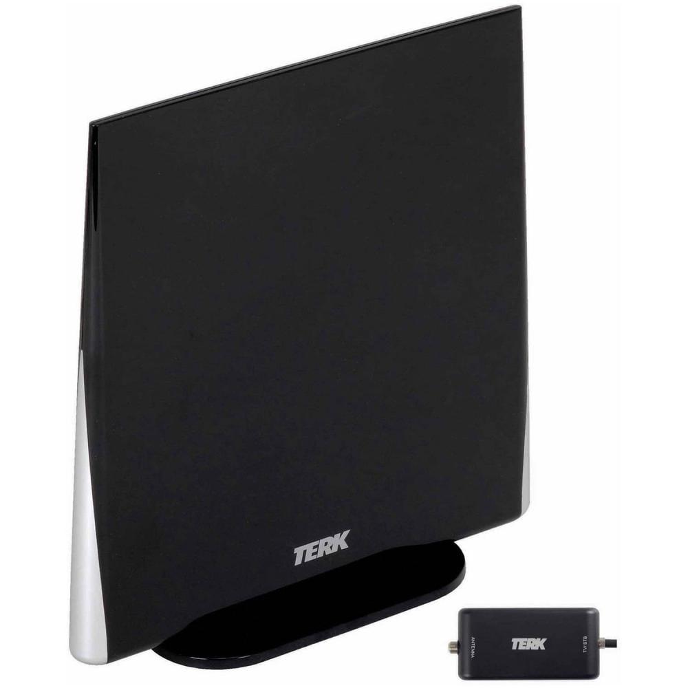 Terk Omni Directional Amplified Digital Flat Indoor Hdtv Antenna
