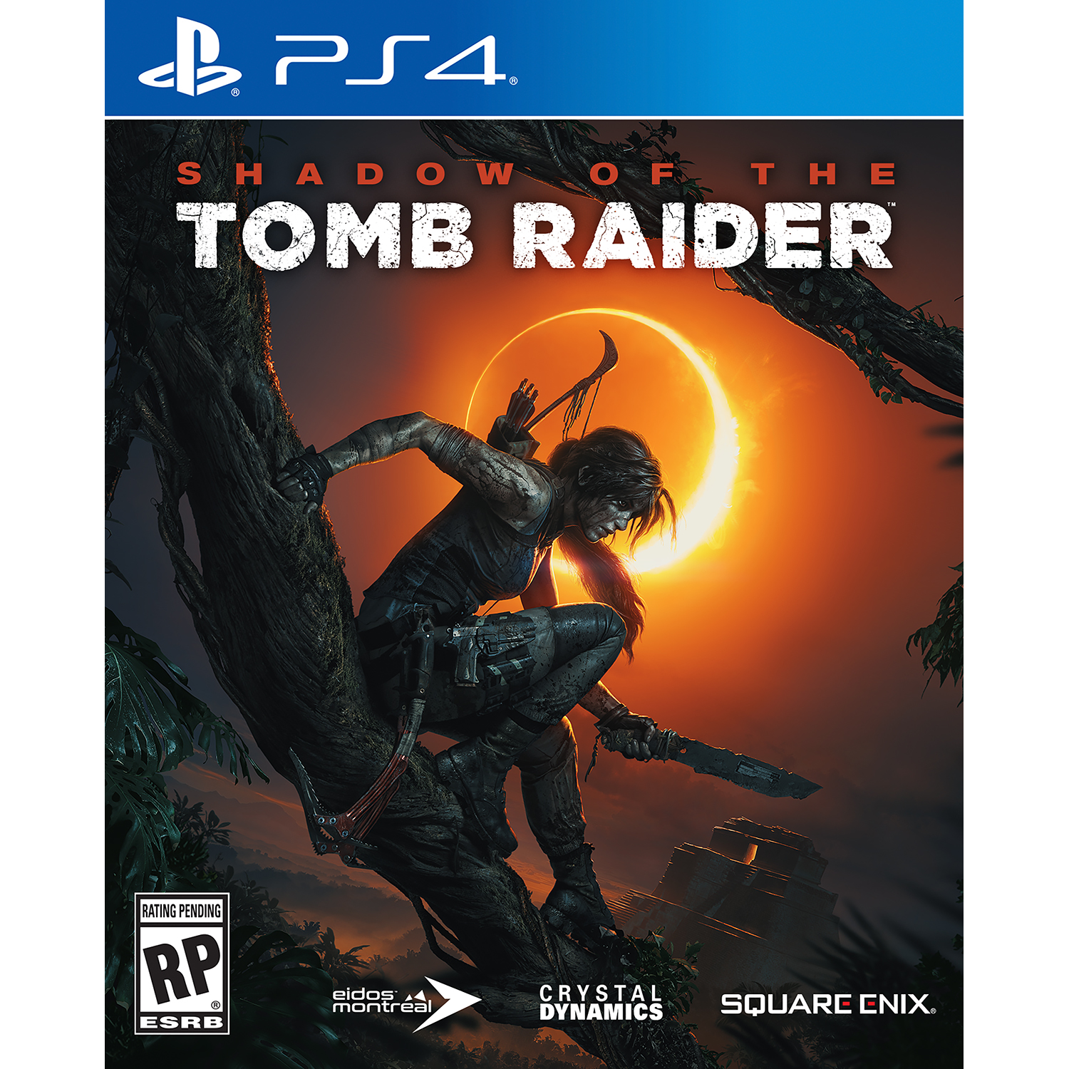 Shadow Of Tomb Raider Square Enix Playstation 4 662248921273