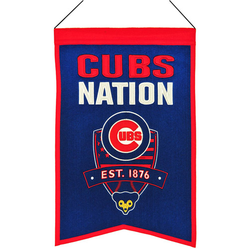 MLB Nations Banner, Chicago Cubs