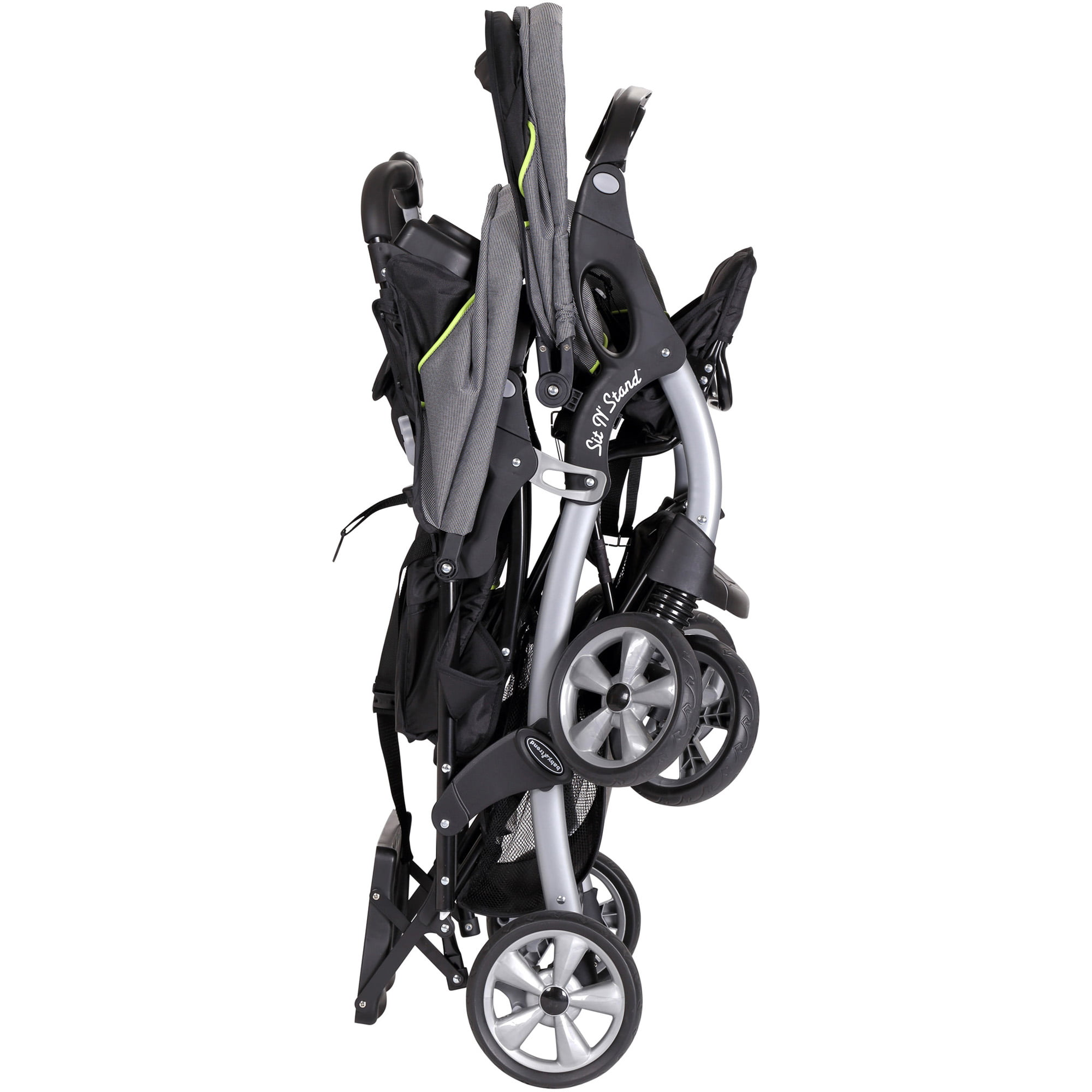 Baby Trend Sit N Stand Double Stroller Pistachio