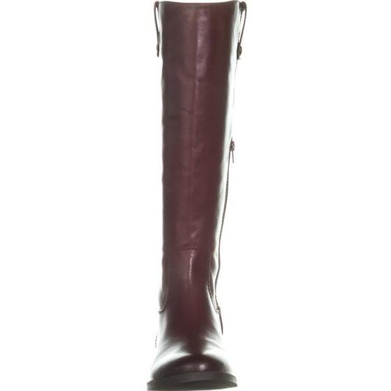 0d4279054bf Womens I35 Fawne Wide Calf Riding Boots, Merlot
