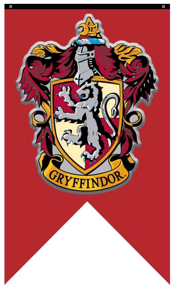 picture relating to Harry Potter House Banners Printable titled Harry Potter Home Gryffindor 30\