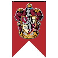 """Harry Potter House Gryffindor 30""""x50"""" Fabric Banner"""