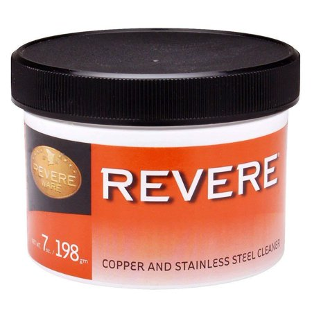 Revere Copper, Brass & Stainless Steel Cleaner / Polish - 7oz Jar