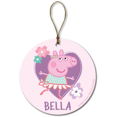 Personalized Peppa Pig Ballerina Christmas Ornament - Personalized Peppa Pig Ballerina Christmas Ornament - Walmart.com