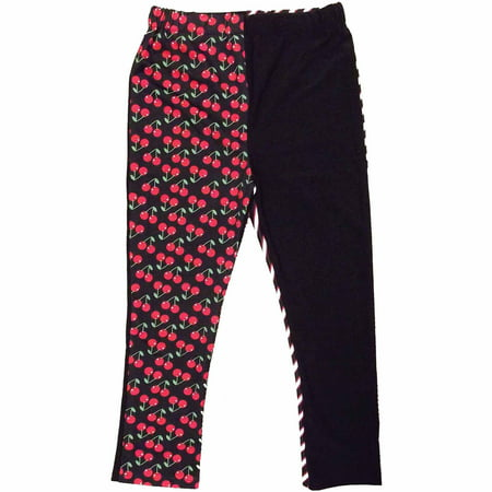 Red-Black-White Monster High Creeperific Leggings Child Halloween Costume](Halloween Monster Songs For Kids)