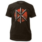 Dead Kennedys - Distressed Logo (slim fit) Apparel T-Shirt - Grey