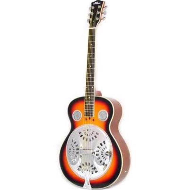 39.5 in. 6 String Acoustic Resonator Guitar by SonicBoom