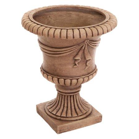 Antique Clay Zeus Urn Planter Dmc Products Antique Planter