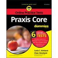 Praxis Core for Dummies with Online Practice Tests (Paperback)