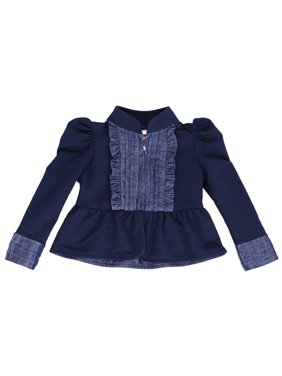 7f7b818f63d Product Image French Terry Knit Kiss of Joy Zip-Up Classic Bolero Jacket  for Toddlers and Girls