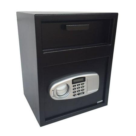 Zimtown Digital Safe Box Depository Drop Deposit Front Load Cash Vault Lock Home -