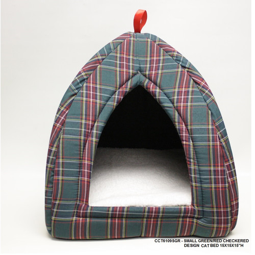 Desti Design Checkered Cat Bed
