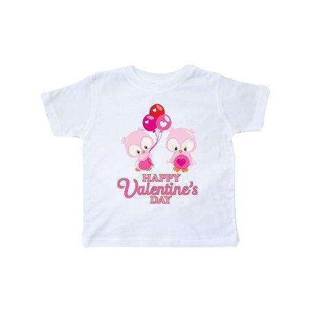 Happy Valentine's Day Toddler T-Shirt - Valentine's Day Tree