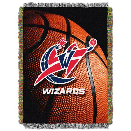 Washington Wizards Woven Tapestry Blanket by