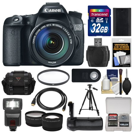 canon eos 70d digital slr camera ef s 18 135mm is stm. Black Bedroom Furniture Sets. Home Design Ideas