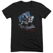 Arkham City Joke's On You! Mens Tri-Blend Short Sleeve Shirt