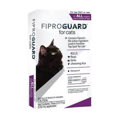 Sentry Fiproguard Flea & Tick Topical Medication for Cats (Comfortis Flea Medication)