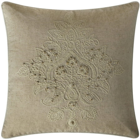 VCNY Home Katarina Floral Damask Embroidered 18