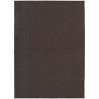 "Garland Rug Town Square Solid Mocha 7'6""x9'6"" Indoor Area Rug"
