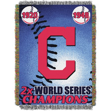 Cleveland Indians MLB COMMEMORATIVE CHAMPS Tapestry Throw