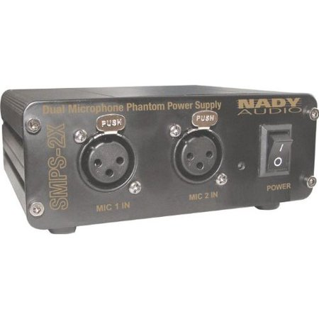 Nady 2-Channel Phantom Power Supply for SCM