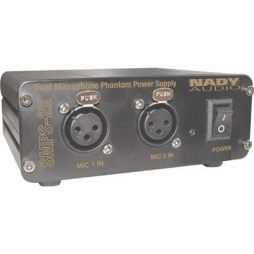 Nady 2-Channel Phantom Power Supply for SCM Series