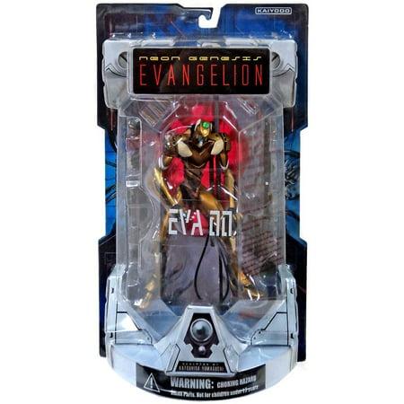 Neon Genesis Evangelion Hyper Realistic EVA-00 Proto Model Collectible Figure [Gold]