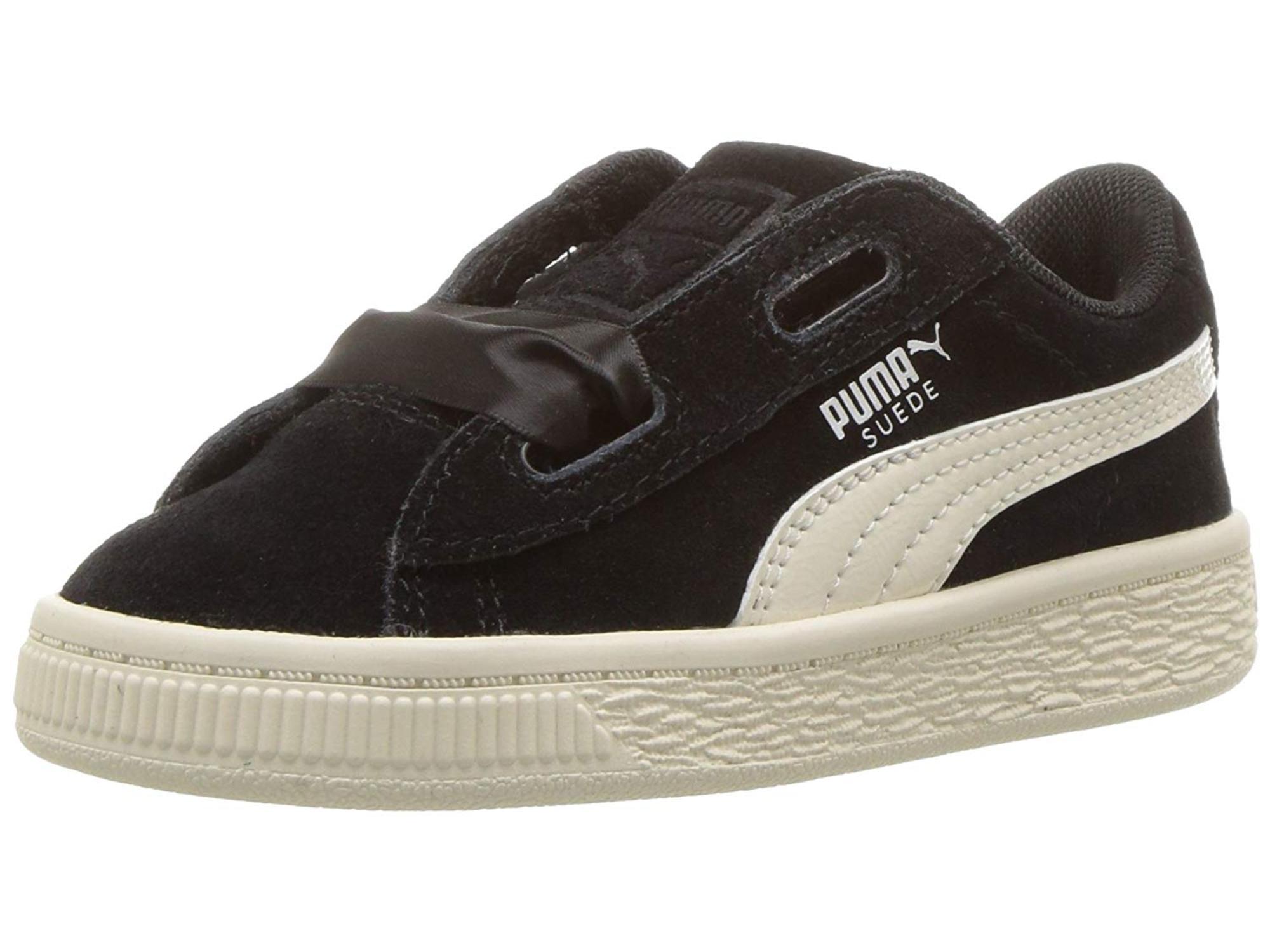 PUMA Kids  Suede Heart Jewel Sneaker 1e263da56